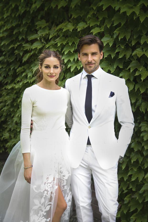 Olivia Palermo: ihr (ungewöhnliches) Hochzeitskleid • WOMAN.AT