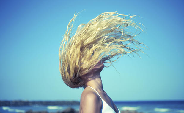 Haare blondieren vor urlaub
