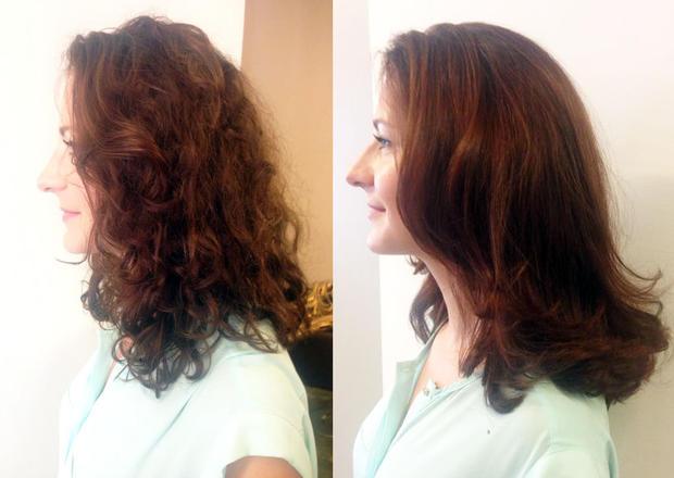 keratin-behandlung für glatte und lockige haare • woman.at