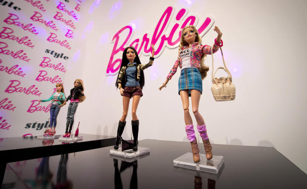Barbie goes Instagram