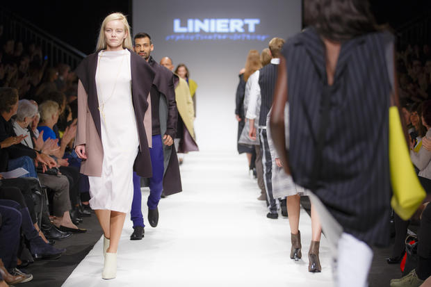 MQ Vienna Fashion Week 2014: Liniert