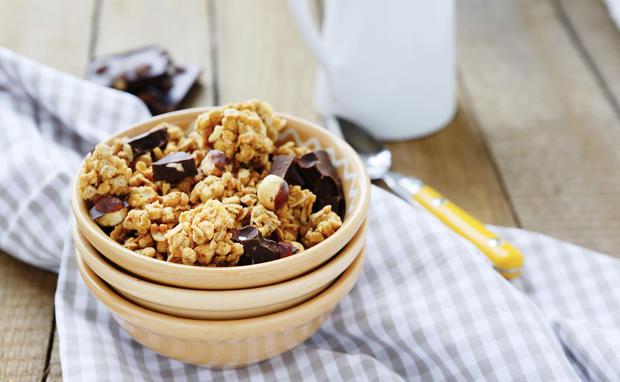 rezept granola selber machen woman at. Black Bedroom Furniture Sets. Home Design Ideas