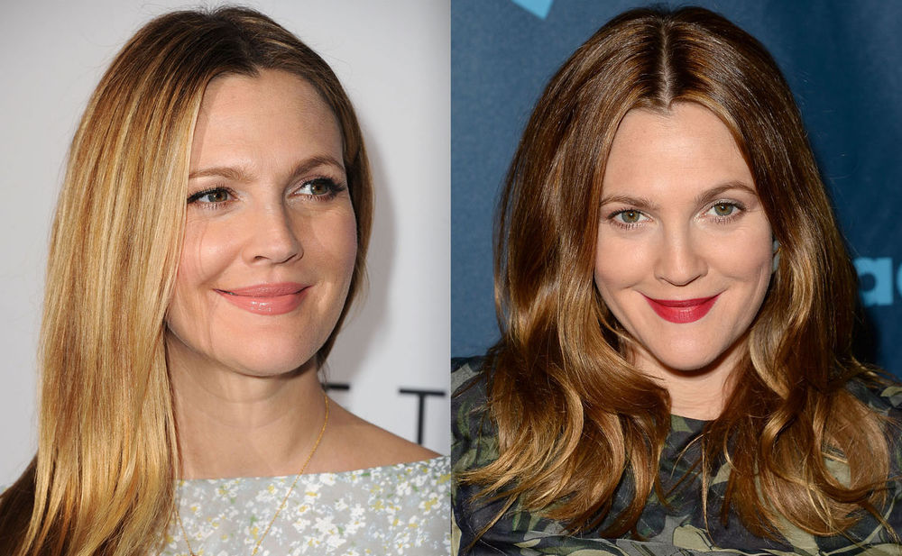 drew barrymore blond vs br nett woman at. Black Bedroom Furniture Sets. Home Design Ideas
