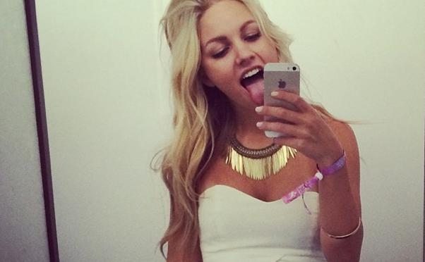 model, hacker, falle, erpressung, nacktfotos, madison louch, madilouch