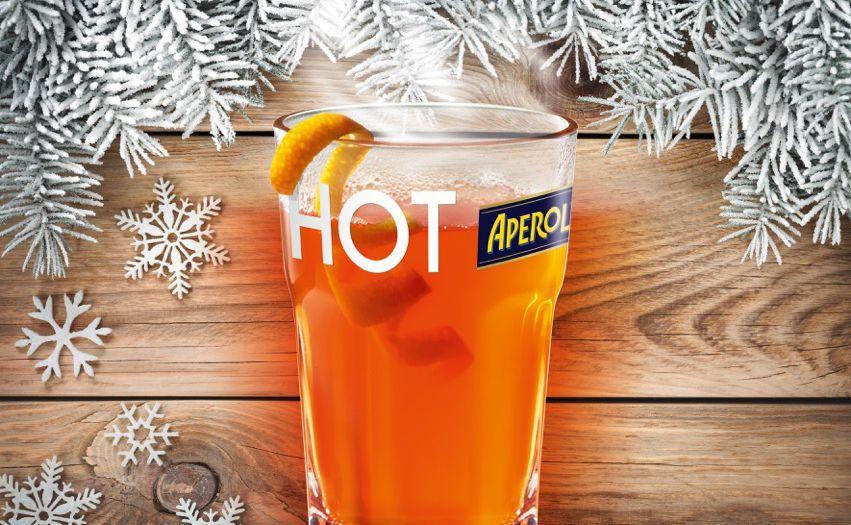 hot aperol der trend drink im winter woman at. Black Bedroom Furniture Sets. Home Design Ideas