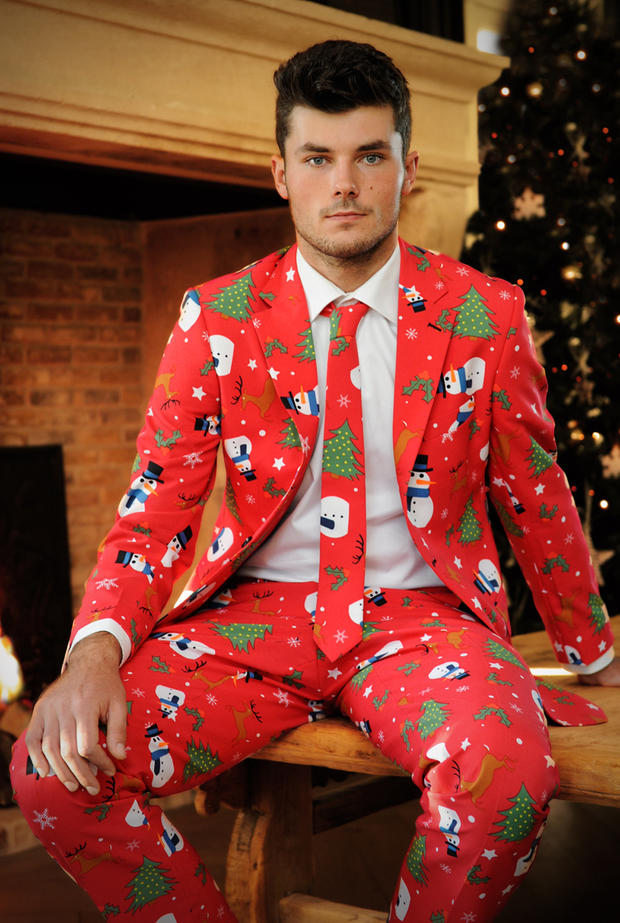 Ugly Holiday Suits