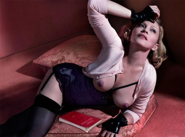 Nackt Madonna  Madonna's old