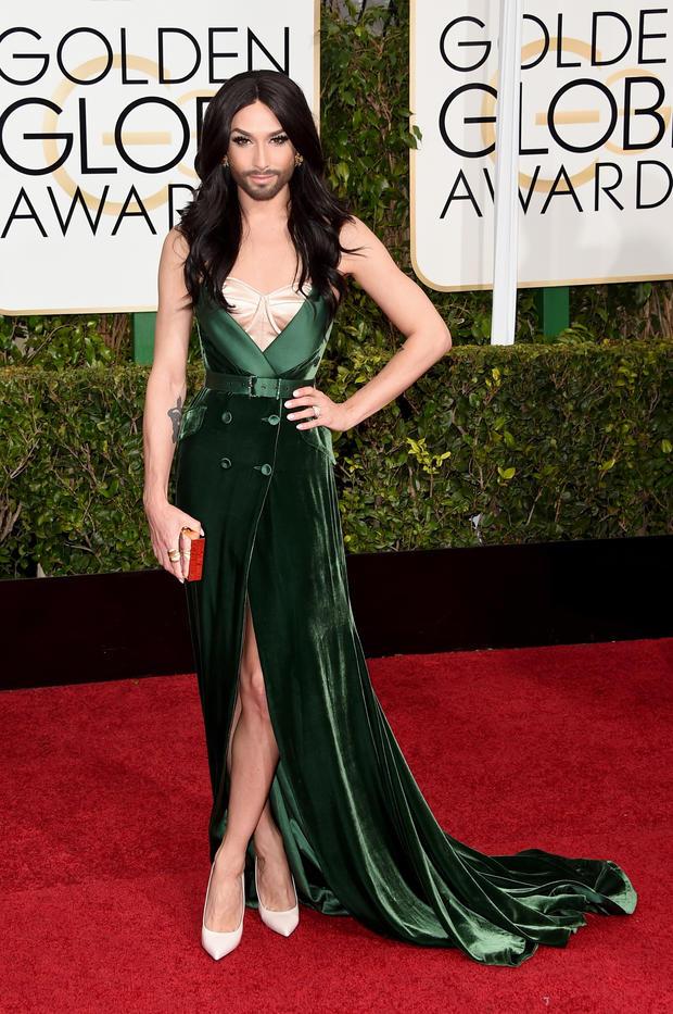 Conchita Wurst Rockt Hollywood Woman At