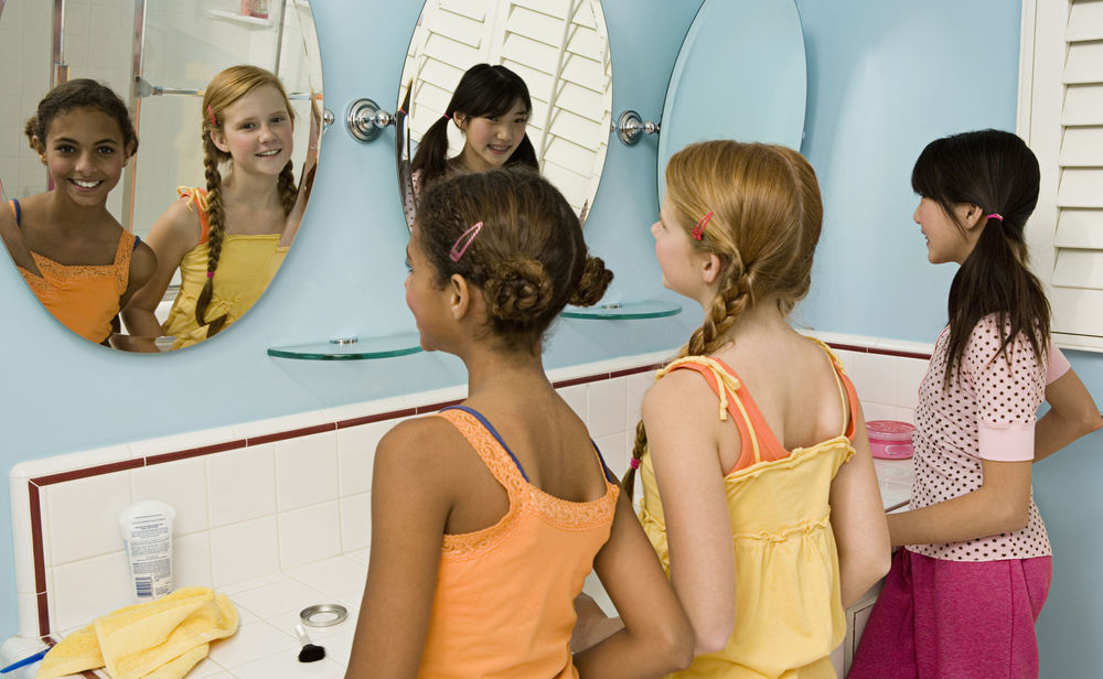 Mädchen Diät