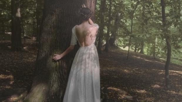 Die Mode voraus Braut