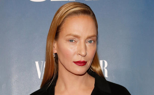 uma thurman, interview, botox,