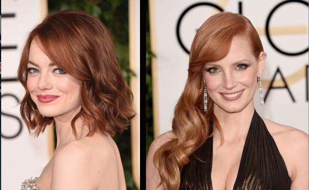 Trend Haarfarbe 2015 Bronzett Woman At