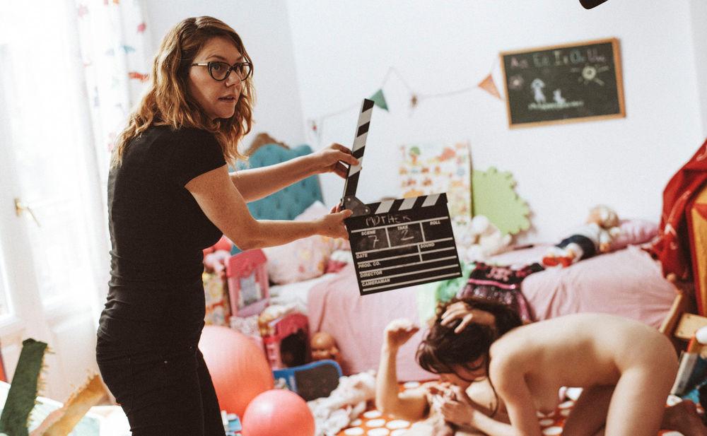 Dreharbeiten Porno