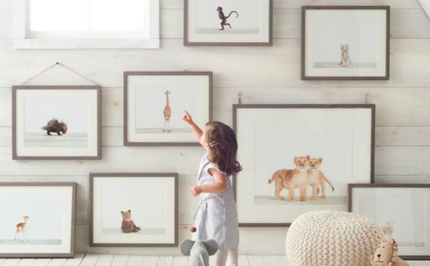 Die ideale Deko fürs Kinderzimmer: Tierfotografien von Sharon Montrose