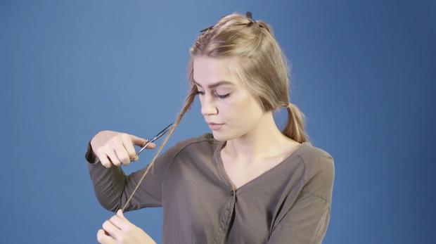 Anleitung: So Schneidest Du Dir Selbst Die Haare