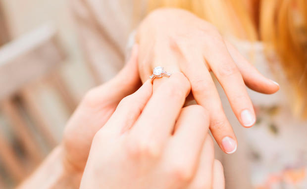 Wurdest Du Diesen Verlobungsring Tragen Woman At