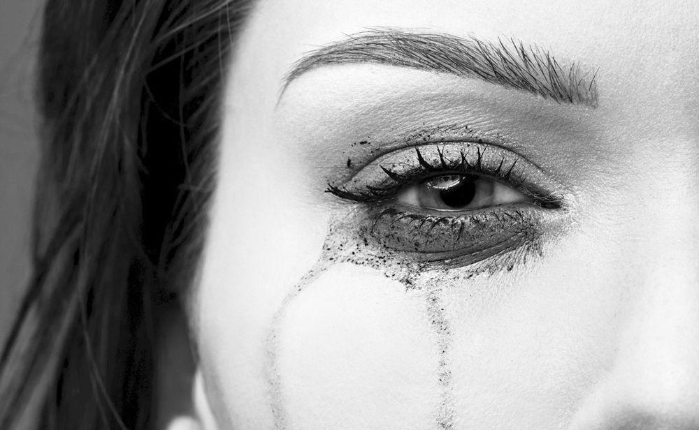 Tränen Unterdrücken