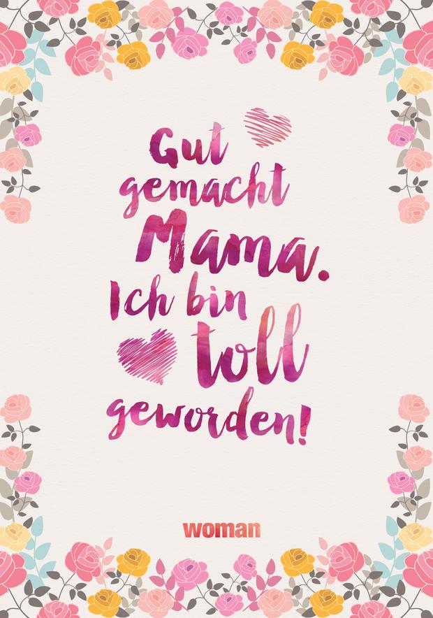 Muttertagskarten zum ausdrucken woman at - Witzige karten kostenlos ...