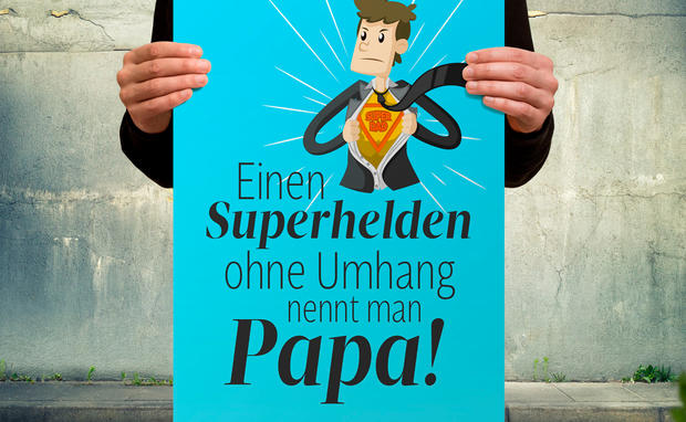 Vatertagskarte Zum Ausdrucken Womanat
