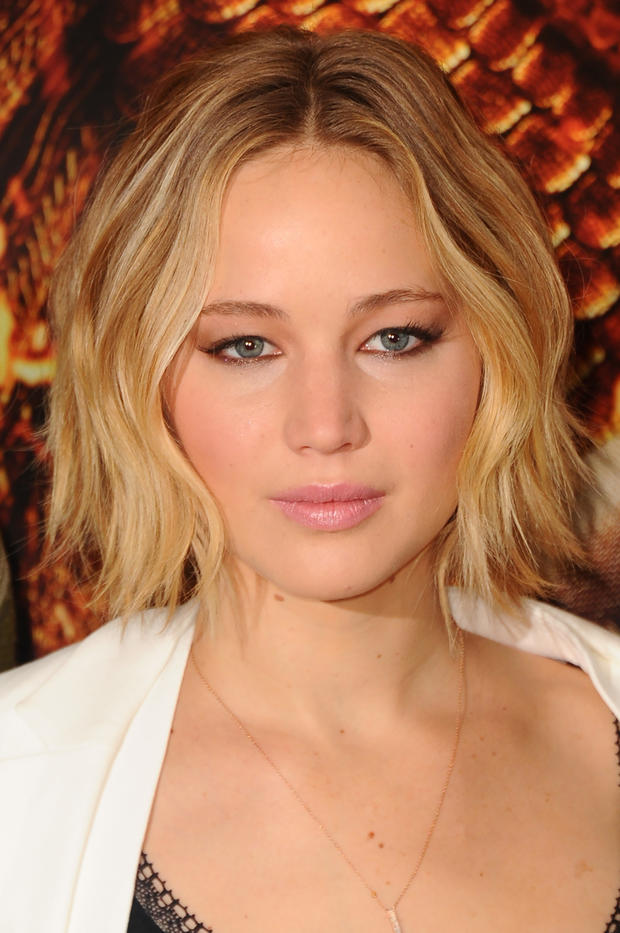 Jennifer Lawrence Ciao Lob Hallo Zopf Woman At