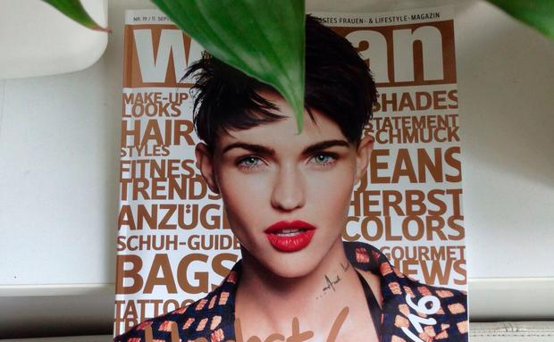 Ruby Rose Cover Magazin