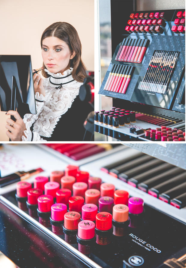 Vicky Heiler bei Chanel - The Daily Dose Make-up Tutorial
