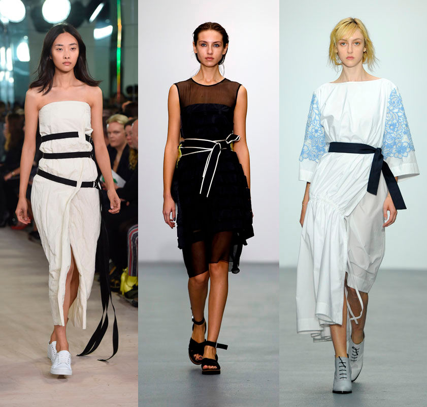 Trends der London Fashion Week SS 2016