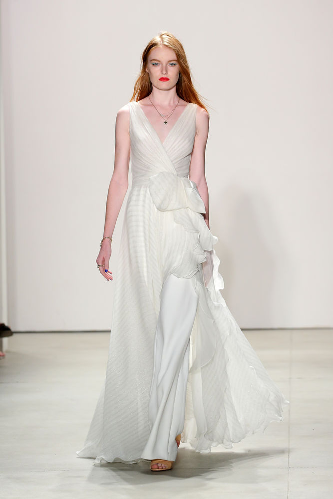 Brautkleider der New York Fashion Week