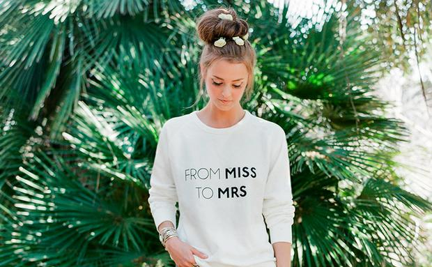 From Miss to Mrs, Pullover