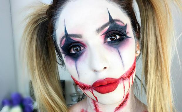 16 Halloween Schmink Ideen Auf Instagram Woman At
