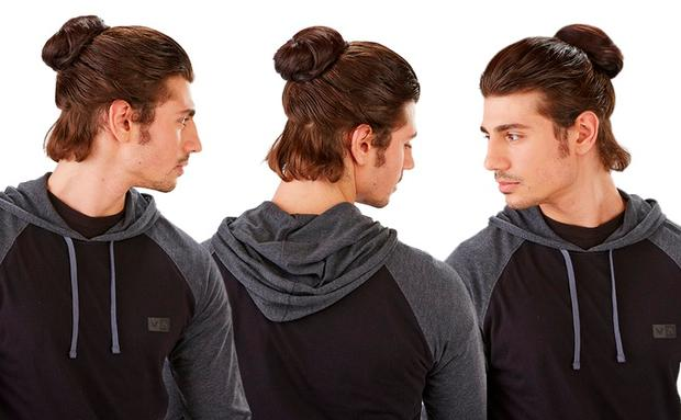 WHAT? Man-Bun als Haarteil!