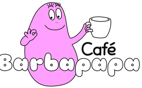 barbapapa cafe japan