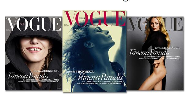 Vanessa Paradis, vogue, paris, mager