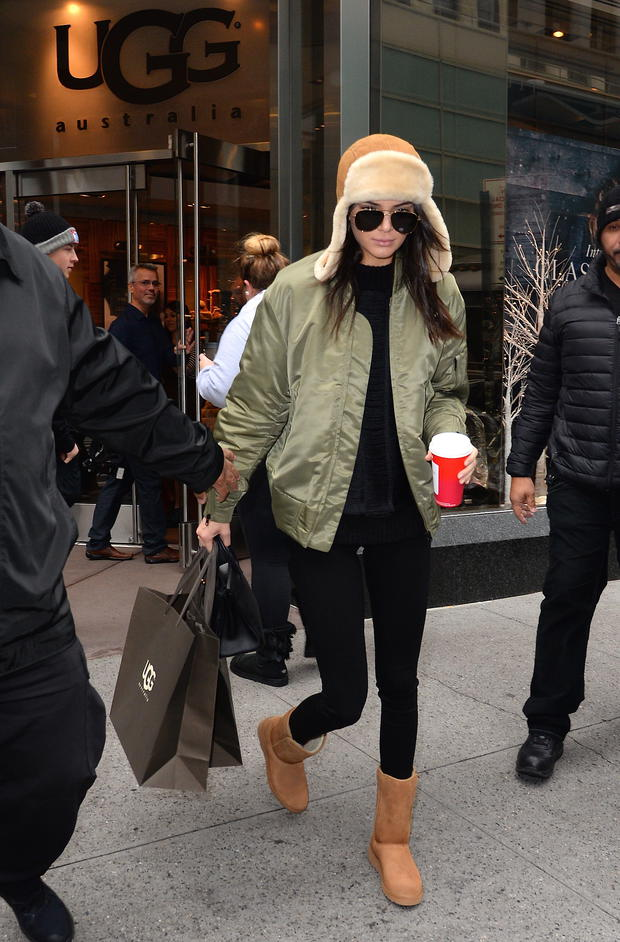 Kendall Jenner mit Ugg Boots