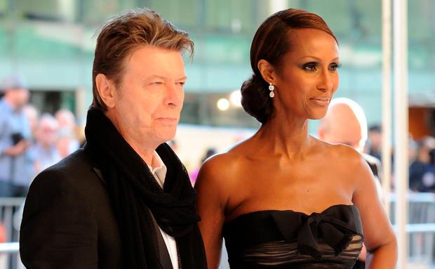 Iman Abdulmajid Nimmt Abschied Von David Bowie Womanat