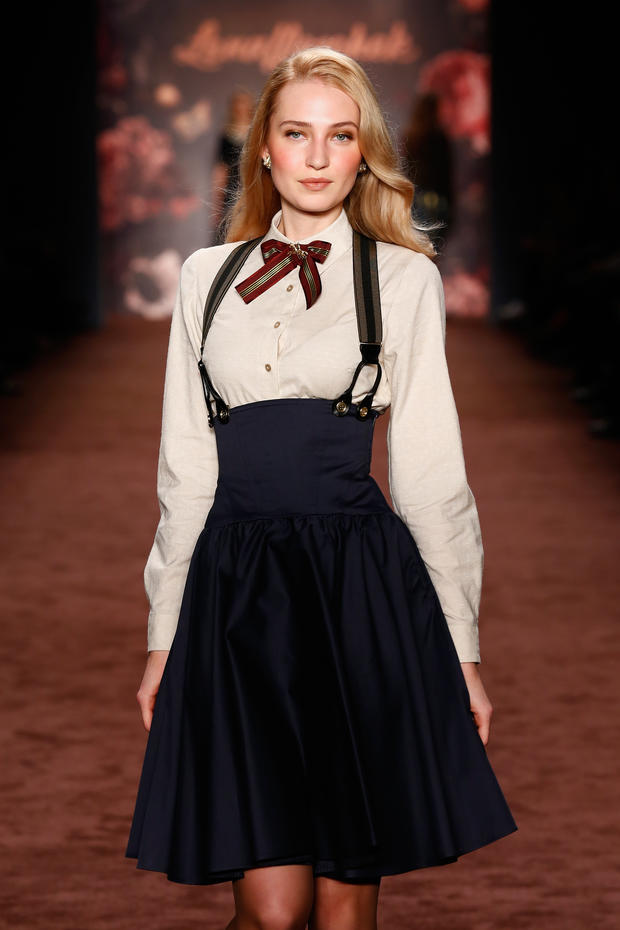 Berlin Fashion Week Lena Hoschek Herbst