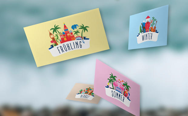 Papier Goodie: Travel Cards