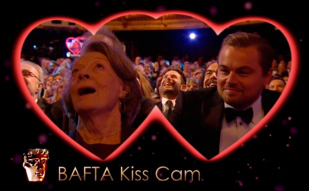 Bafta Awards Kiss Cam