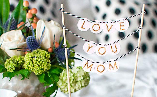 Deko Ideen Zum Muttertag Woman At