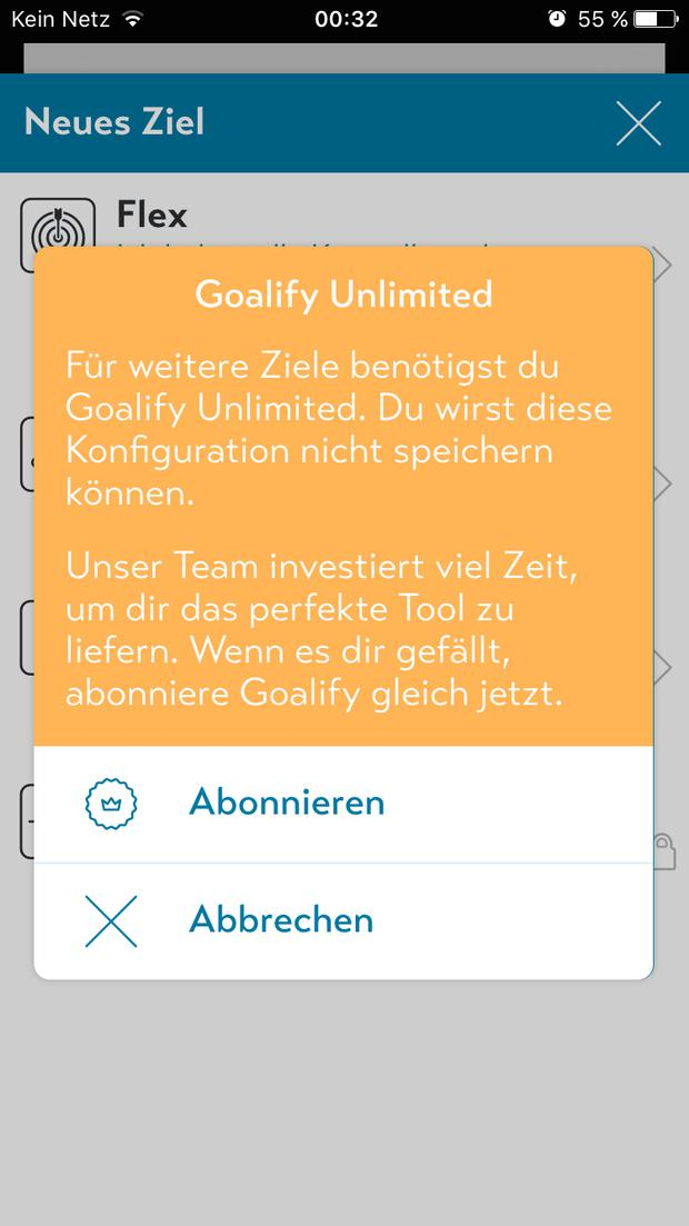 Goalify App im Test
