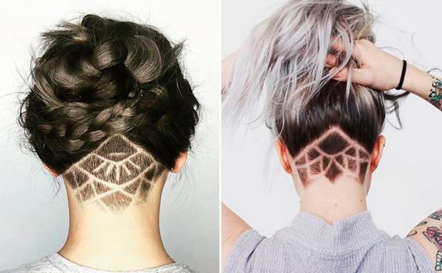 Hair Cut Short Girl  Style Undercut Design