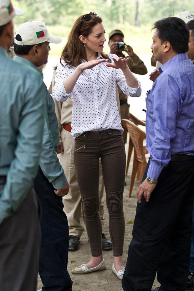 Kate Middleton in Zara...