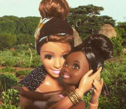 White Savior Barbie