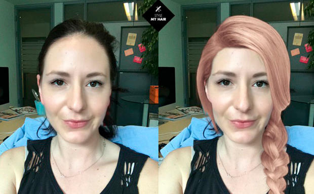 Style My Hair App Im Test Haarfarbe Und Frisuren Woman At