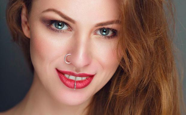 Piercingnarben entfernen - Methoden • WOMAN.AT