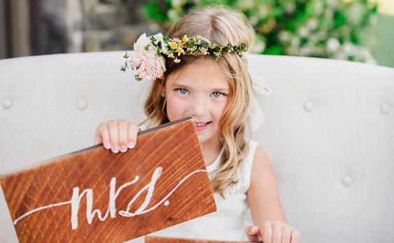 Inspirationen: Wedding-Signs