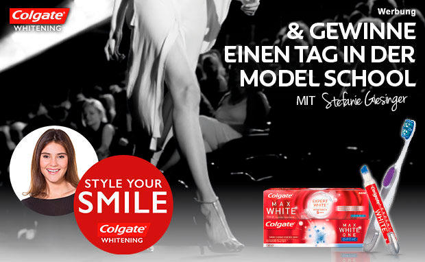 STYLE YOUR SMILE mit Colgate Whitening