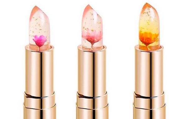 Warum aktuell alle diesen Lippenstift wollen: Blumen von Kailijumei