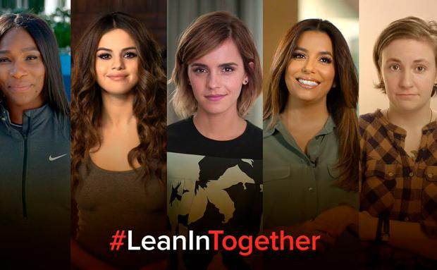#LeanInTogether