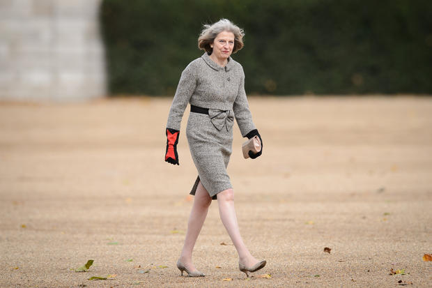 Theresa May Style Fashion